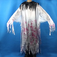 "Suitable for Halloween or party and bar dress/props""white ghost clothes"", 1.5m.FREE SHIPPING!!!"