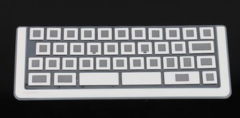 1pc Portable Silicone Touch Typing Transparent Keyboard for iPad/ iPad 2/iPad3 80547 Free Shipping