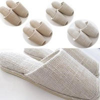 Home slippers wood floor slippers spring and autumn slippers indoor slippers at home slippers