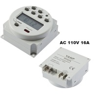 AC 110V 16A Digital LCD Time Switch Relay Power Programmable Timer