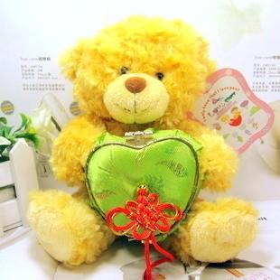 Cartoon teddy bear plush toy recording doll dolls birthday gift