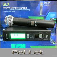 Wireless SLX24 / Beta58 microphone UHF SLX24  handheld Vocal Mic System,express
