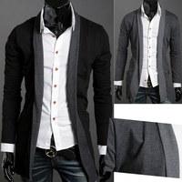 Hot Sale Fashion Stylish Slim Fit Knit Sweaters Formal Jackets Coat Cardigan 3sizes