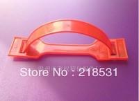 Big red plastic handle, color box plastic handle, , carry hand, plastic lift button