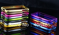 Freeshipping Metal bumper Case For cell  phone 5 5G with retail box