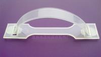 Milk box transparent plastic handle carton handle buckle plastic handle professional customize
