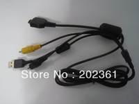 VMC-MD1 USB AV Multi-Use Cable Lead For Sony DSC-T300 DSC-P120 DSC-H20 DSC-W3