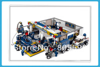 without original box Sluban 0356 F2 Maintenance Station Building Block Set 3D  Construction Brick Toys Educational Block toy