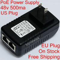 48V 0.5A PoE Injector PoE Power Adapter