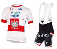 2013 New Arrival Quickste CB607,Hot Sales Cycling Jersey +Bib Short Set/Cycle Wear/Sport Cloth/Racing Jackets/ Biking Gear