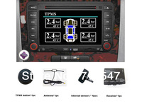 Tire Pressure Monitoring System TPMS  WT800with 4 sensors for Car DVD GPS
