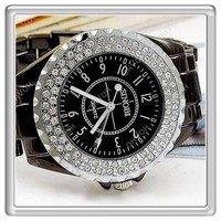 S5Y Sinobi Stylish Fashion Steel 3A Crystal Women Ladies Luxury Gift Wrist Watch