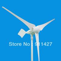 1000W wind turbine generator 24V or 48V AC !  3blades.free shipping ! high quality !
