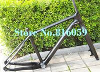"Full Carbon 3K Glossy 27.5er 650B Mountain MTB BICYCLE Bike Frame BSA  + FORK + headset   Size: 17"", 19"", 21"""