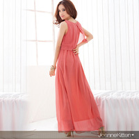 2013 fashion women's aesthetic formal dress elegant one-piece dress elegant chiffon