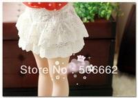 hollow & lace girls lace shorts baby shorts children's shorts princess short pants Trousers Summer