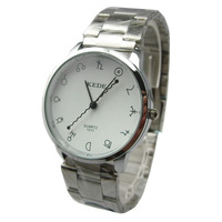 1.0% oracle scale student watch individuality brief fashion steel sheet lovers table DE-007