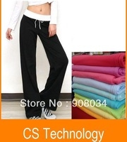 [C-363] Holiday Sale 2013 Lady Women's Sport Drawstring Yoga Pants wear Cotton Clothing Lie Fallow Stylish Trousers