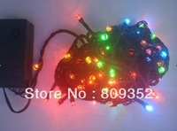 Seven color allochroism LED string lights
