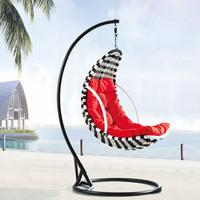 Rattan outdoor rattan hanging basket rattan rocking chair swing bird nest hanging basket hanging chair indoor swing