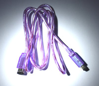 New Purple Link Cable for Nintendo GameBoy Color GameBoy Pocket GBC GBP tracking