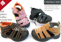 FREE SHIPPING 58 - 65 oshkosh excellent cow leather sandals