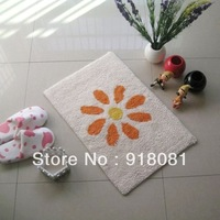 100% cotton yarn sunflower paragraph 100% cotton mats carpet bathroom doormat bed pad 40*60CM or 50*80CM