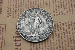 High Quality Replica China Old Silver Coin Chinese Ancient Coins Art /Collection Specimen For Collector/One Dollar Coins(China (Mainland))