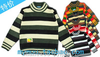 Striped sweater child sweater children's clothing