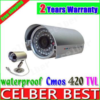 CCTV Outdoor Security Camera Weatherproof Day Night Vision Surveillance 420tvl