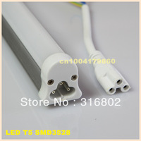 4Foot 12W LED Tube T5  SMD3528 1200mm AC 85-265V LED Tube with Fixture Commercial LED Fluorescent Light
