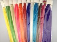 """FREE SHIPPING 16"""" long 120 pcs/lot synthetic feather straight hair extension/ hair 12 mix colors for retails & wholesale"""