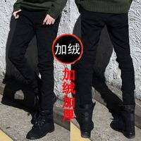 2013 spring new Black men's clothing slim jeans male pencil pants skinny pants male k61 thickening p45 general