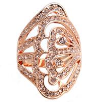 Free shipping High quality bohemia full rhinestone index finger ring female finger ring index finger ring female fashion