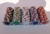 Chip set texas poker mahjong baccarat chips 11.5 g Clay feel chip