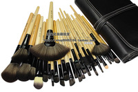 Professional makeup tools 32 cosmetic set brush 32 cosmetic brush set bag