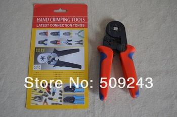 Mini-type Self-adjustable Crimping Plier  Ratcheting Ferrule Crimper  Fast shipping C6-4 Crimper (0.25-6mm2)  AWG 23-10