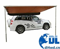 Off road car side awning
