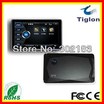 Film music photo  Freeshipping Touch Screen Car Camera GPS Navigator system Car GPS Navigation TCG-007