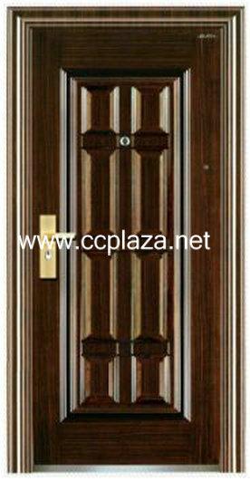 cold-roll steel panel Steel double doors,Security doors,Fire resistant doors,Metal doors,FHM131(China (Mainland))