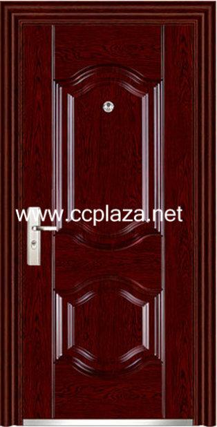 cold-roll steel panel Steel double doors,Security doors,Fire resistant doors,Metal doors,FHM156(China (Mainland))