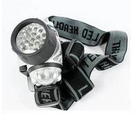 1PC MX-19 LED Headlight 19* 5 mm White 3 Mode 19 LEDs 3AAA Fishing Hiking Waterproof Headlamp