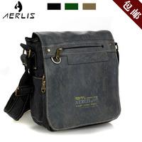 Aerlis canvas shoulder bag male Women messenger bag thickening