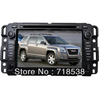 "7"" Car DVD navigation for New GMC with  GPS IPOD BT USB SD DVD(opt) free shipping wholesale price"
