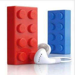 Free Shipping Building Block MP3 player With TF card Slot(China (Mainland))