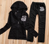 Free Shipping Women's Brand Tracksuits,Women cotton Suits,Sport Tracksuits,Hoodies & Pants