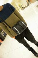 Freeshipping!!! 2013 shoulder bag  male casual  trend messenger bag lining texture bag inner structure handbag