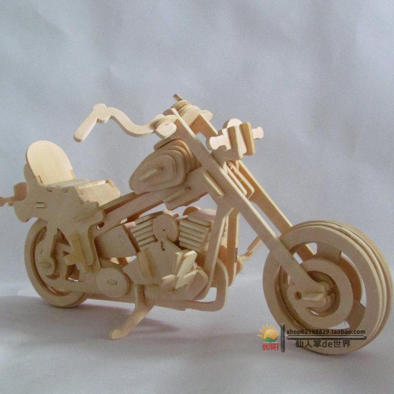 3d Wooden Puzzles Wooden Puzzle Model Diy 3d