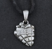 Min.order is $10 (mix order).Gothic (Green Day band) pendant necklace, welcome to order! # 0266