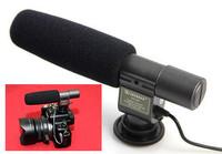 Free Shipping!!SHENGGU Shotgun DV Stereo Microphone for C  Eos 600D 550D Rebel T3i Camera